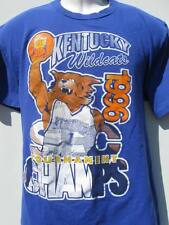 Kentucky Wildcats 1996 National & SEC 5 in a row Tournament Champs 2 sided shirt