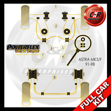 Opel Astra F (91-98) Powerflex Black Complete Bush Kit