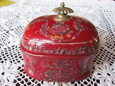 Porzellandose mit Deckel Behälter Schmuckdose Seifendose Bonboniere