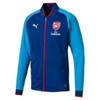 PUMA Men's Arsenal FC Stadium Limoges/Blue Jacket 75265602 NEW!