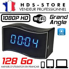 DESPERTADOR CÁMARA ESPÍA IP WIFI RVLIP6 FULL HD 1080P+MICRO SD 128 GO INFRARROJO