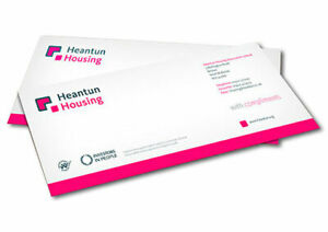 Compliment Slips Full Colour on 160gsm 210mm x 99mm