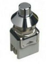 Apem PUSH BUTTON SWITCH 4A Momentary SPST, Screw Terminal, Flat Round Actuator