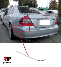 for Mercedes E Class W211 saloon 2002-2009 Rear Bumper Guard Scratch Protector
