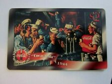 1996 Coca - Cola $2  Sailors Drinking coke  phone card by Sprint, free ship