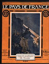 WWI Montagne Trentin Trentino-Alto Adige Trento Italy Italia 1915 ILLUSTRATION