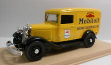 Eligor 1/43 Scale Diecast Model 1077 FORD V8 1934 CAMIONNETTE MOBIL OIL YELLOW