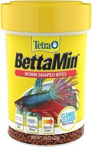 Tetra BettaMin Worm Shaped Bites