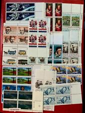 1967-86 US Stamps SC#1370//2220-2223 15 Block of 4, Face Value:$10  CV:$23