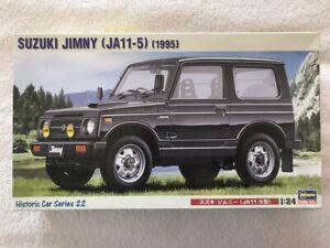 Hasegawa 1/24 Suzuki Jimny 1995 (JA11-5) plastic model kit 21122