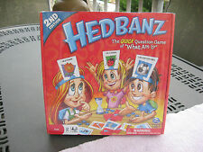 """Hedbanz 2nd Edition~The Quick Question Game Of """"What am I?""""~New & Sealed!"""