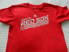 Boy's size Large 14-16 Adidas Red Boston Red Sox Silky Jersey Shirt