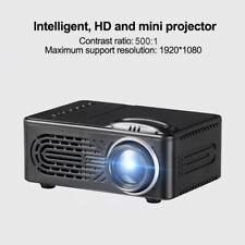 1080P Mini HD LED  Projector Home Cinema Theater Multimedia USB TF TV AV DVD