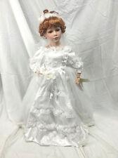 "24"" MayRich Bride Doll Porcelain Victoria"
