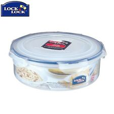 Lock And Lock Round Transparent Storage Container 2.5L Kitchen Home New