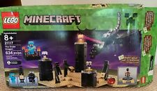 New In Opened Box - Retired - LEGO 21117 Minecraft The Ender Dragon 634 Pieces