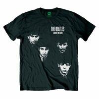 The Beatles Love Me Do Faces Official Merchandise T-Shirt M/L/XL - Neu