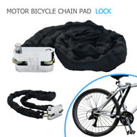 Chain Lock Heavy Duty Scooter Motorcycle Motorbike Chain Pad Lock Security 1.2M