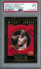 1995 Upper Deck Predictor MICHAEL JORDAN Player of the Week #H2 PSA 9 MINT.POP 9