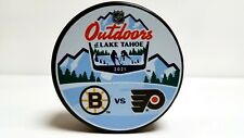 2021 Nhl Outdoors Series Dueling Style Hockey Puck