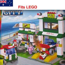 300Pcs CITY Car Service Centre Station Blocks set Kids Building Bricks