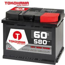 Autobatterie 60Ah +30% mehr Leistung Wartungsfrei ersetzt 56Ah 61Ah 63Ah 64Ah