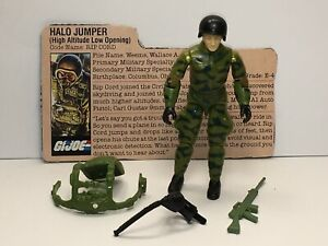 GI Joe Vintage 1984 Ripcord 100% Complete Hasbro Arah Lot Accessories