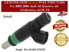 1 Fuel Injector OEM Siemens for 2002-2006 Audi A6 Quattro A6 A4 Quattro A4 3L V6