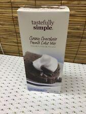 Tastefully Simple Classy Chocolate Pound Cake Mix
