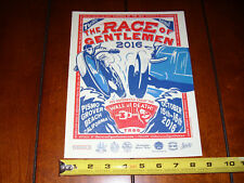 2016 THE RACE OF GENTLEMEN PISMO GROVER BEACH CALIFORNIA - ORIGINAL AD