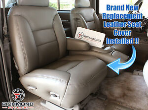1998 Chevy Suburban C/K-PASSENGER Side Bottom Replacement Leather Seat Cover Tan