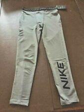 New listing Nwt Nike Boys Youth Pro Warm Graphic Training Tights Gray Cu9131 Xl $40
