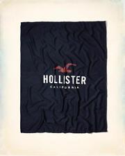 LOGO BLUE BLANKET BY HOLLISTER CALIFORNIA