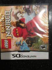 LEGO BATTLES NINJAGO Nintendo DS Brand New Factory Sealed