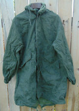 U.S. Military Night Desert Camo Parka w/hood, Size M/L, v.g. to exc. used cond.