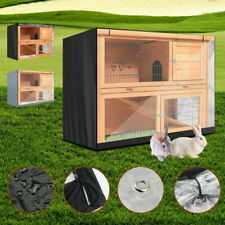 """48""""Enclosure with Cover Roof for Pet Rabbit Hutch Cage House Ferret Chicken Coop"""
