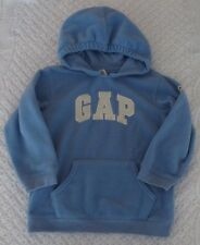 Baby Gap 4 years yrs Girls blue fleece pullover hoodie pocket jacket