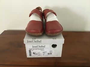 Josef Seibel Ladies Shoes Rosalle Red Size 42 New