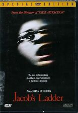 Jacob's Ladder (DVD 1998 Special Edition) RARE 1990 HORROR MYSTERY MINT W INSERT