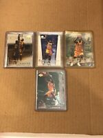 SHAQUILLE O'NEAL LOS ANGELES LAKERS 4 CARD LAKERS INSERT LOT  HOT HOT HOT HOT!