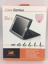ZooGue Case Genius iPad 2 Pink Leather Cover Wrist Strap Headrest Mount Adjust