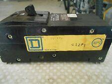 Square D Q1U370 Series Q1U 3 Pole 70 amp Circuit Breaker -Used