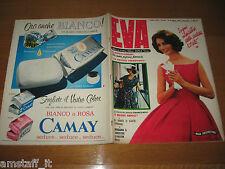 EVA=1959/23=RIVISTA MAGAZINE MODA DONNA WOMAN CUCINA ARREDAMENTO=