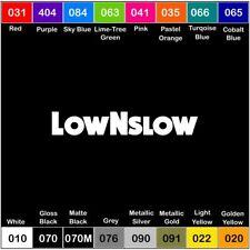 LOW N SLOW V3 Vinyl Decal JDM Sticker Window Car