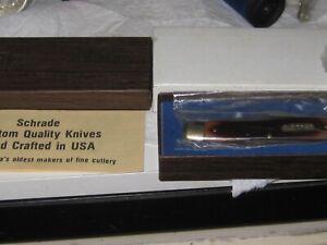 Vintage Schrade USA Old Timer 770T Improved Muskrat 2 Blade Folding Knife new