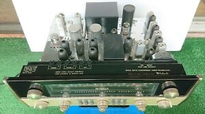 McIntosh MX 110 Stereo Tuner Preamplifier For Parts Light Up Tubes FM Light W@W!
