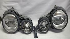 Original SET 96 - 99 Mercedes Benz W210 E-Class Projector Headlights Lamps OEM