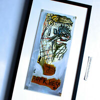 BEAUTIFUL FRAMED JEAN MICHEL BASQUIAT ART PRINT POSTER