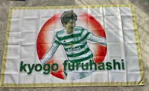KYOGO FURUHASHI CELTIC & JAPAN FOOTBALL SUPPORTERS FLAG - 5x3 Feet
