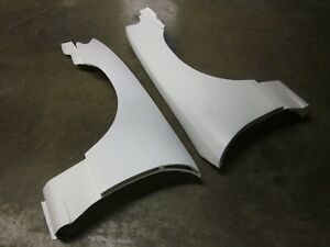 Fibrglass Wide S13.5 Conversion Front Fenders for 89-94 Nissan 240sx S13 to S15